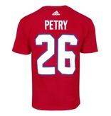 Adidas T-SHIRT JOUEUR ADIDAS #26 JEFF PETRY