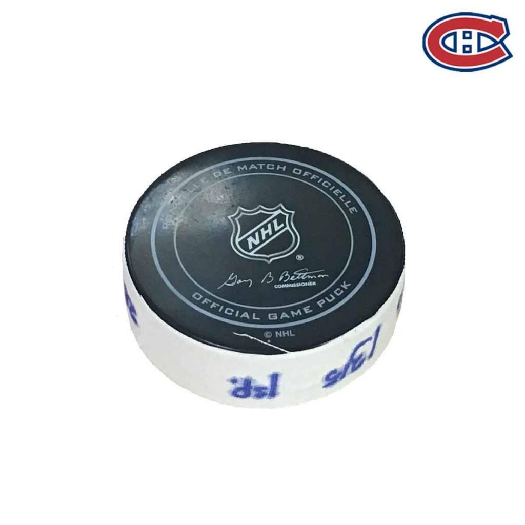 Club De Hockey PHILLIP DANAULT GOAL PUCK (2) 28-OCT-2017