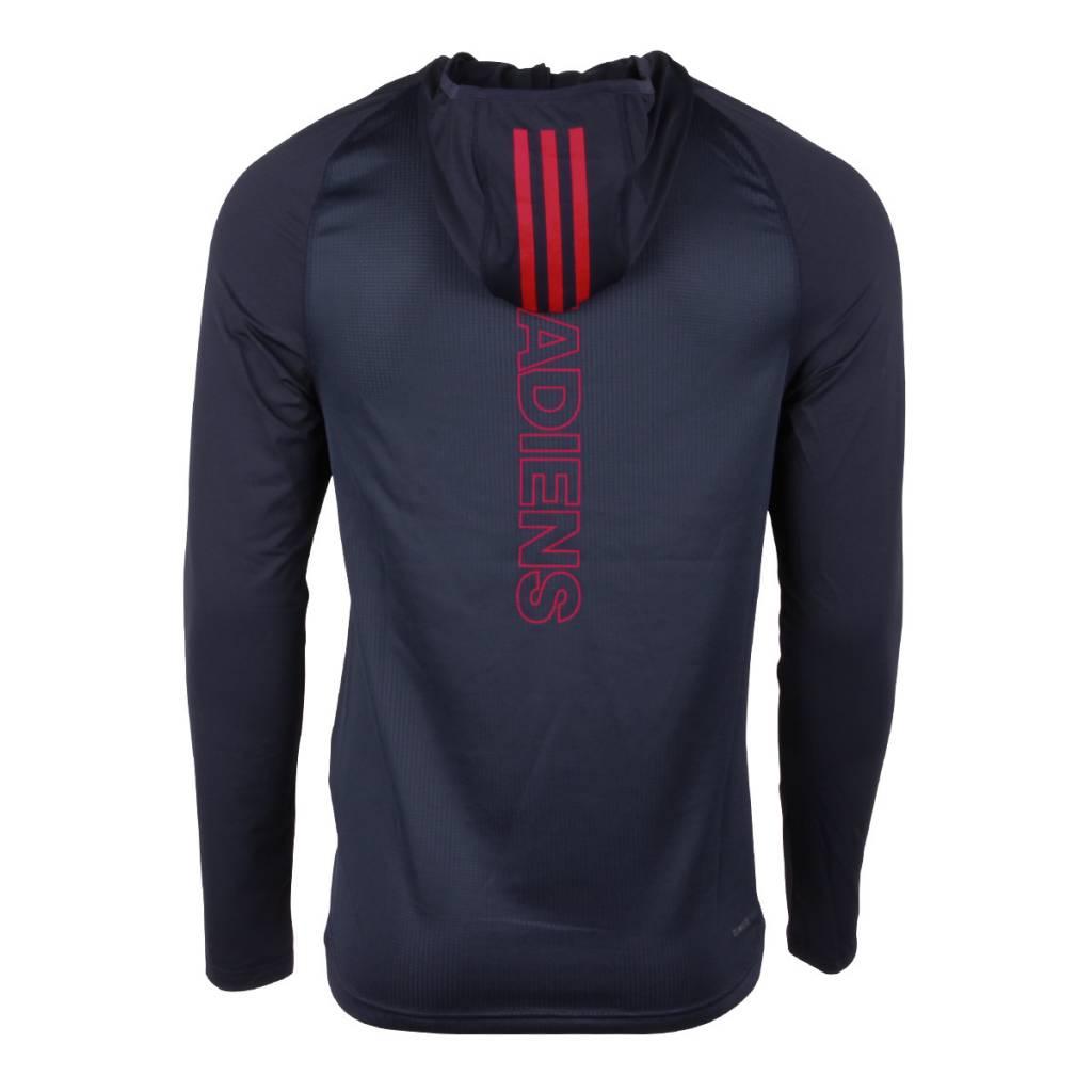 Adidas MANCHE LONGUE CAPUCHE VESTIAIRE 2017-2018