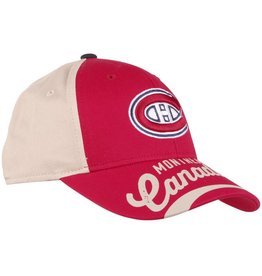 Outerstuff JUNIOR CANADIENS WRITING ON VISOR HAT