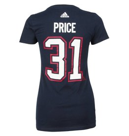Adidas CAREY PRICE #31 WOMEN'S ADIDAS PLAYER T-SHIRT