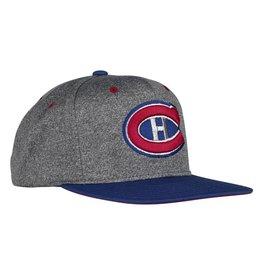 Adidas BLUE/GREY NHL 100 CLASSIC HAT