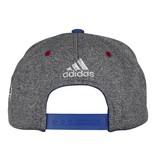 Adidas CASQUETTE BLEU//GRIS 100 DE LA LNH