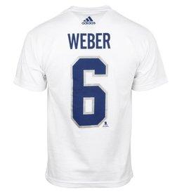 Adidas T-SHIRT JOUEUR SHEA WEBER #6 CLASSIQUE 100 DE LA LNH