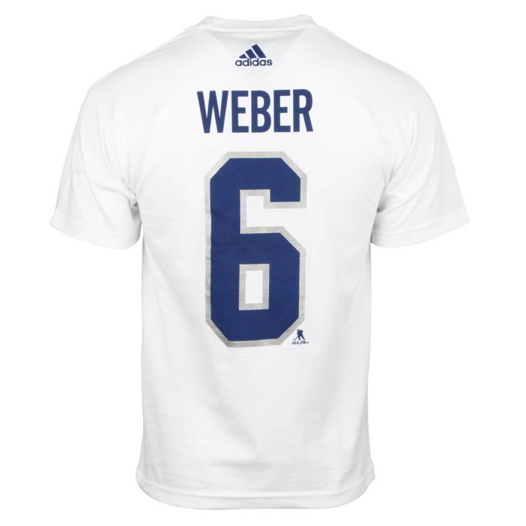 Adidas SHEA WEBER #6 NHL100 CLASSIC PLAYER T-SHIRT