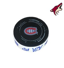 Club De Hockey BRAD RICHARDSON GOAL PUCK (1) 16-NOV-2017