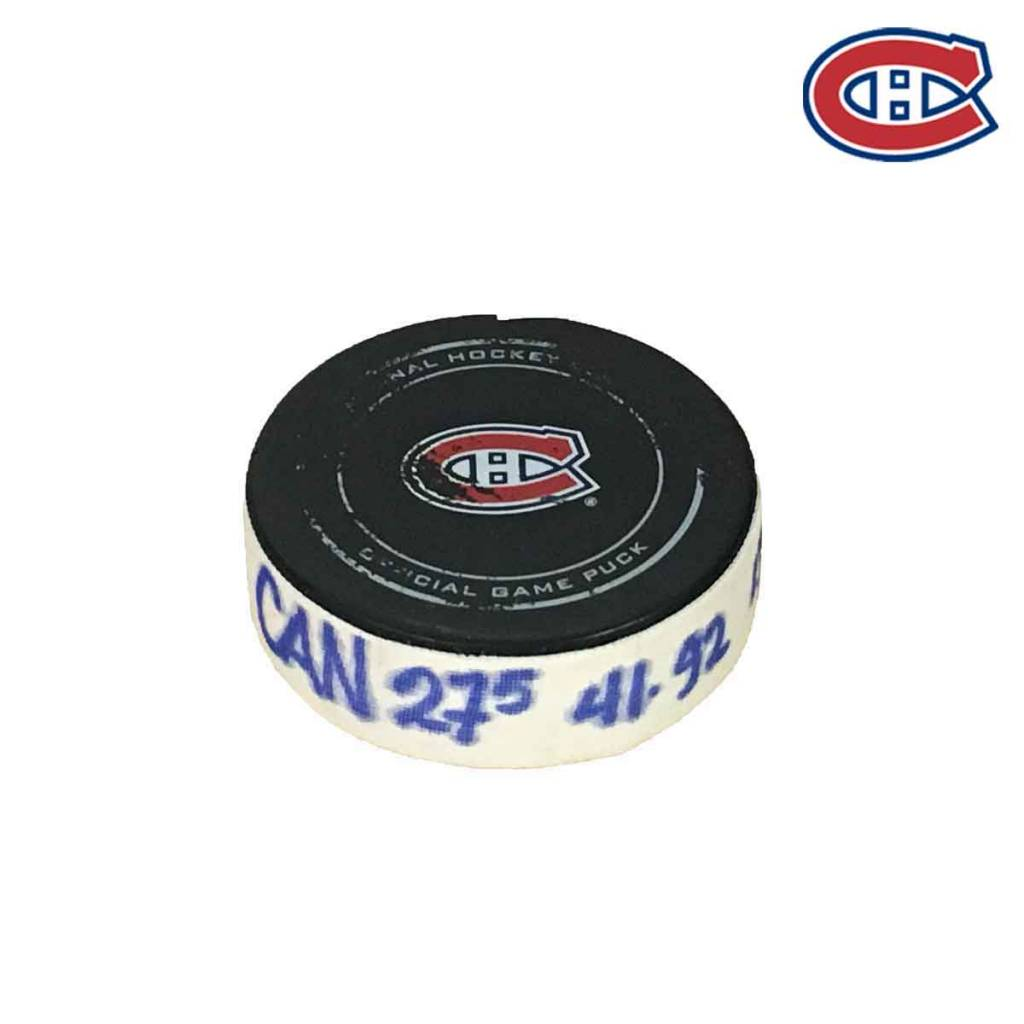 Club De Hockey ALEX GALCHENYUK GOAL PUCK (5) 25-NOV-2017