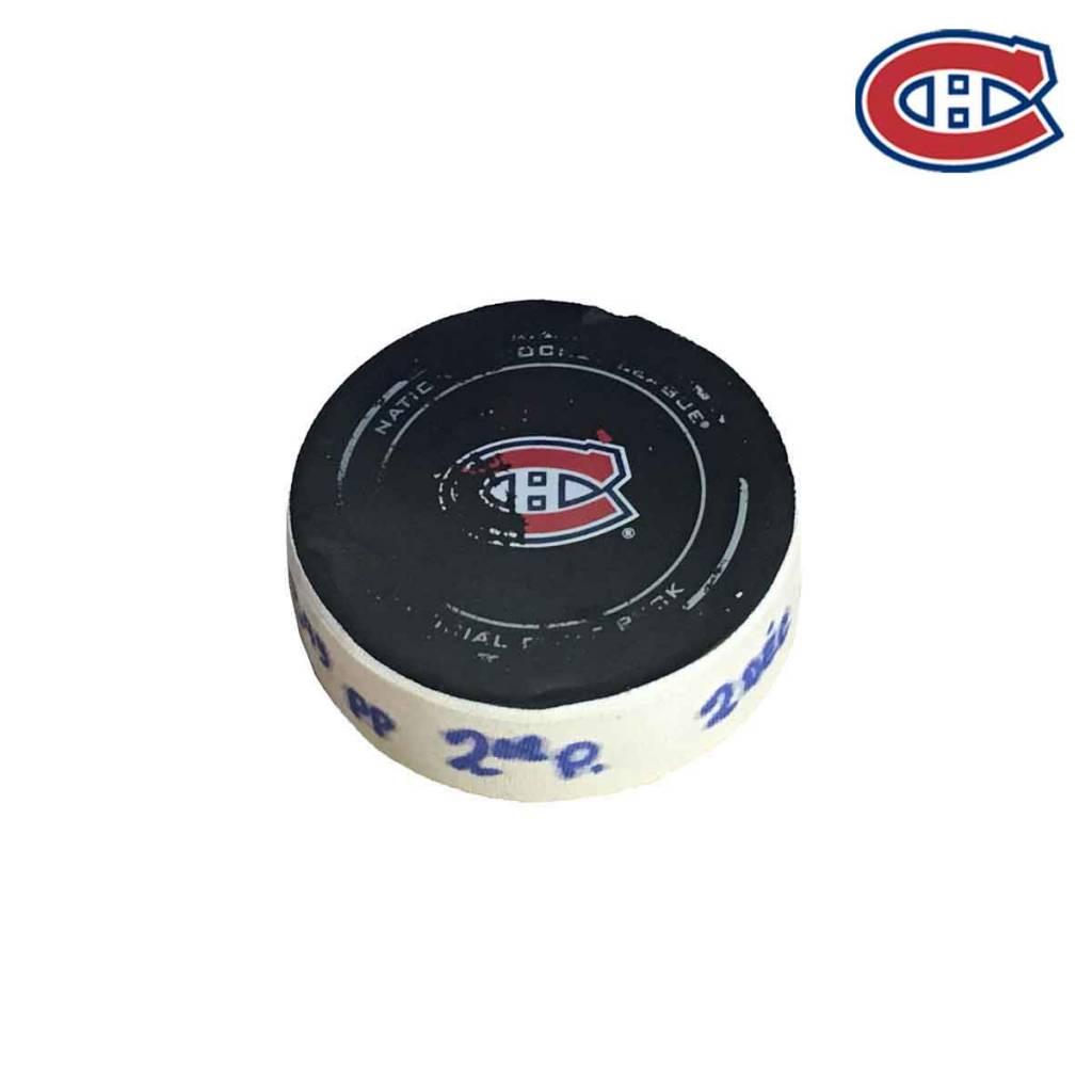 Club De Hockey CHARLES HUDON GOAL PUCK (4) 2-DEC-2017