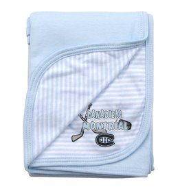 Outerstuff NEWBORN BABY BLUE BLANKET