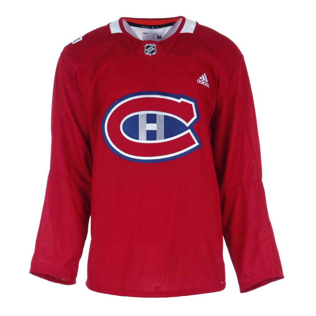 Club De Hockey RED NHL 100 CLASSIC PRACTICE JERSEY