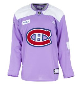 Club De Hockey HOCKEY FIGHTS CANCER PRACTICE JERSEY (GAME-ISSUED)