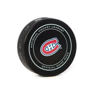 Club De Hockey JEFF PETRY GOAL PUCK (6) 3-FEB-2018