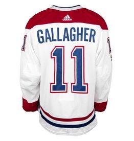 Club De Hockey CHANDAIL PORTÉ 2017-2018 #11 BRENDAN GALLAGHER SÉRIE 1 À L'ÉTRANGER