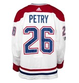 Club De Hockey 2017-2018 #26 JEFF PETRY AWAY SET 1 GAME-USED JERSEY