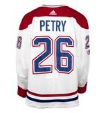 Club De Hockey CHANDAIL PORTÉ 2017-2018 #26 JEFF PETRY SÉRIE 1 À L'ÉTRANGER