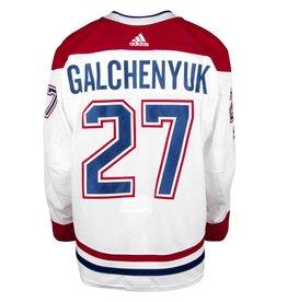 Club De Hockey 2017-2018 #27 ALEX GALCHENYUK AWAY SET 1 GAME-USED JERSEY