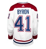 Club De Hockey 2017-2018 #41 PAUL BYRON AWAY SET 1 GAME-USED JERSEY