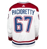 Club De Hockey 2017-2018 #67 MAX PACIORETTY AWAY SET 1 GAME-USED JERSEY
