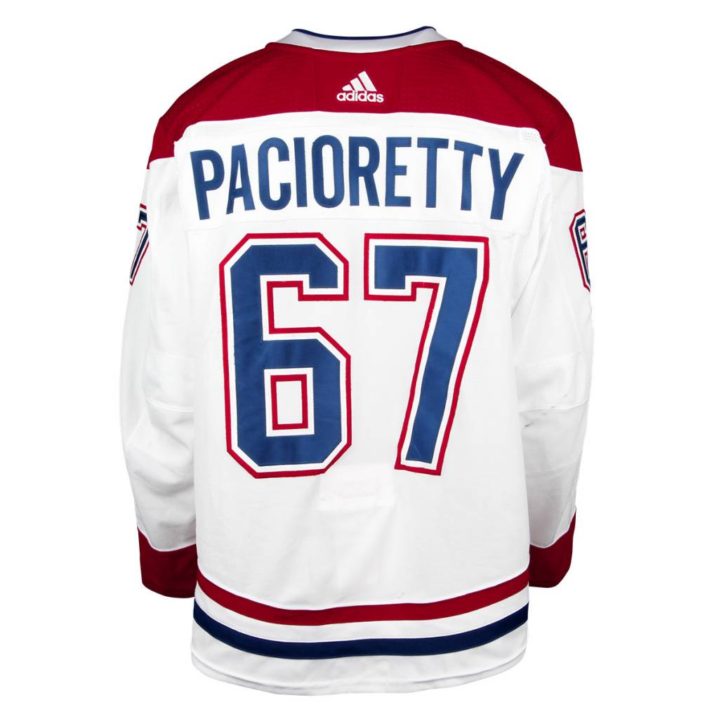 Club De Hockey CHANDAIL PORTÉ 2017-2018 #67 MAX PACIORETTY SÉRIE 1 À L'ÉTRANGER