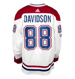 Club De Hockey 2017-2018 #88 BRANDON DAVIDSON AWAY SET 1A GAME-USED JERSEY