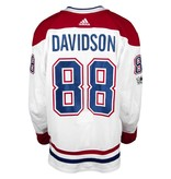 Club De Hockey 2017-2018 #88 BRANDON DAVIDSON AWAY SET 1B GAME-USED JERSEY