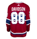Club De Hockey 2017-2018 #88 BRANDON DAVIDSON HOME SET 1 GAME-USED JERSEY