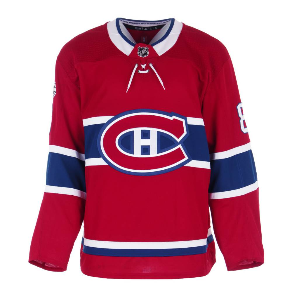 Club De Hockey CHANDAIL PORTÉ 2017-2018 #8 JORDIE BENN SÉRIE 1 À DOMICILE