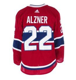 Club De Hockey CHANDAIL PORTÉ 2017-2018 #22 KARL ALZNER SÉRIE 1 À DOMICILE