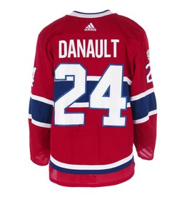 Club De Hockey CHANDAIL PORTÉ 2017-2018 #24 PHILLIP DANAULT SÉRIE 1 À DOMICILE