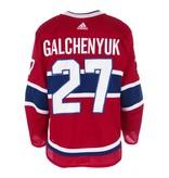Club De Hockey 2017-2018 #27 ALEX GALCHENYUK HOME SET 1 GAME-USED JERSEY