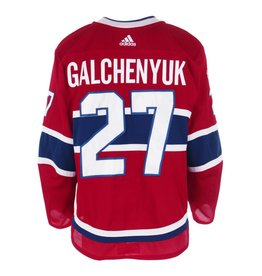 Club De Hockey CHANDAIL PORTÉ 2017-2018 #27 ALEX GALCHENYUK SÉRIE 1 À DOMICILE