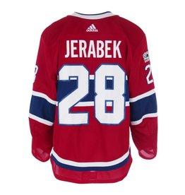 Club De Hockey CHANDAIL PORTÉ 2017-2018 #28 JAKUB JERABEK SÉRIE 1 À DOMICILE
