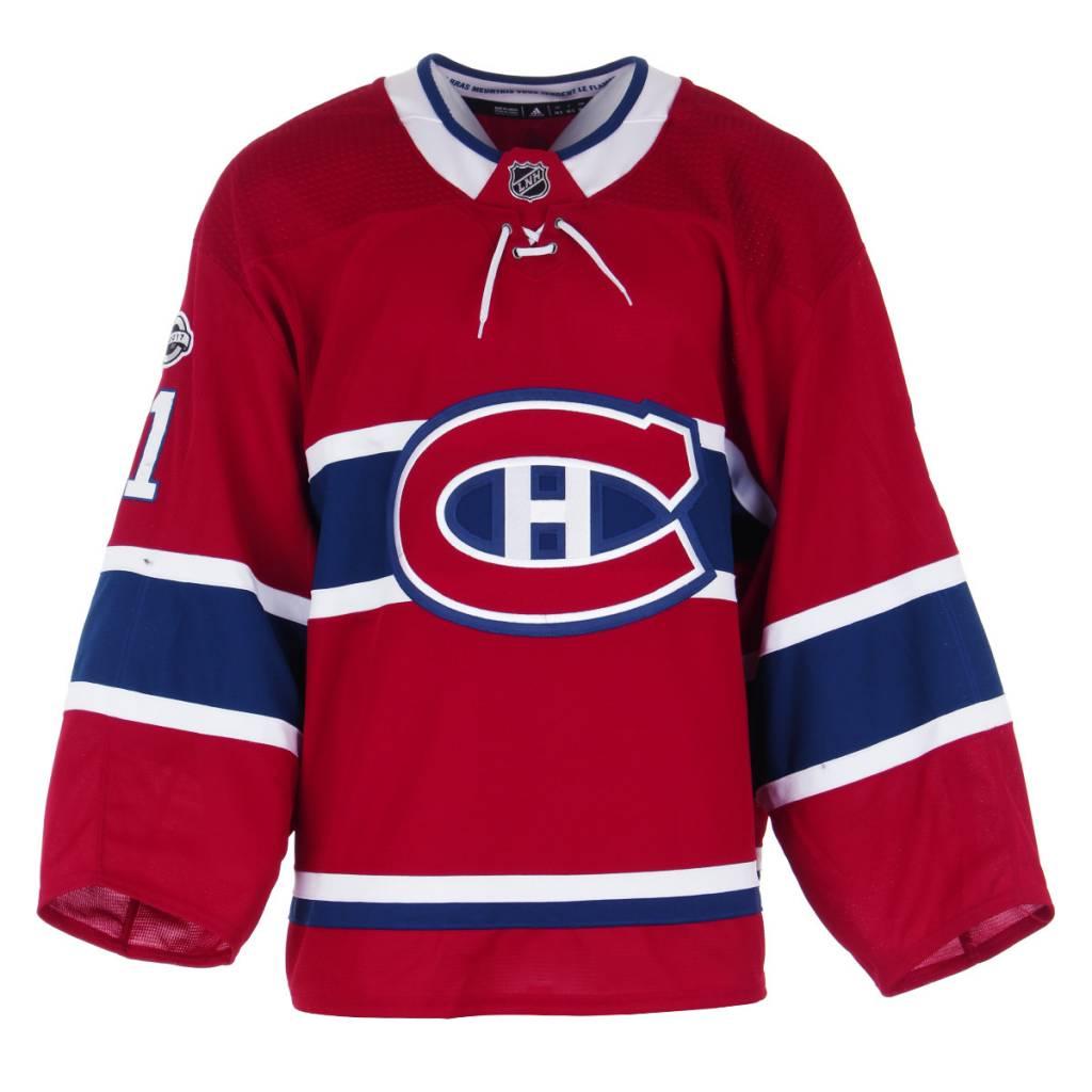 Club De Hockey 2017-2018 #31 CAREY PRICE HOME SET 1C GAME-USED JERSEY