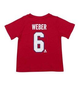 Outerstuff T-SHIRT JOUEUR BÉBÉ #6 SHEA WEBER