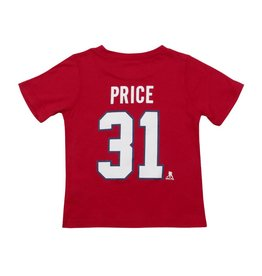 Outerstuff CAREY PRICE #31 BABY PLAYER T-SHIRT