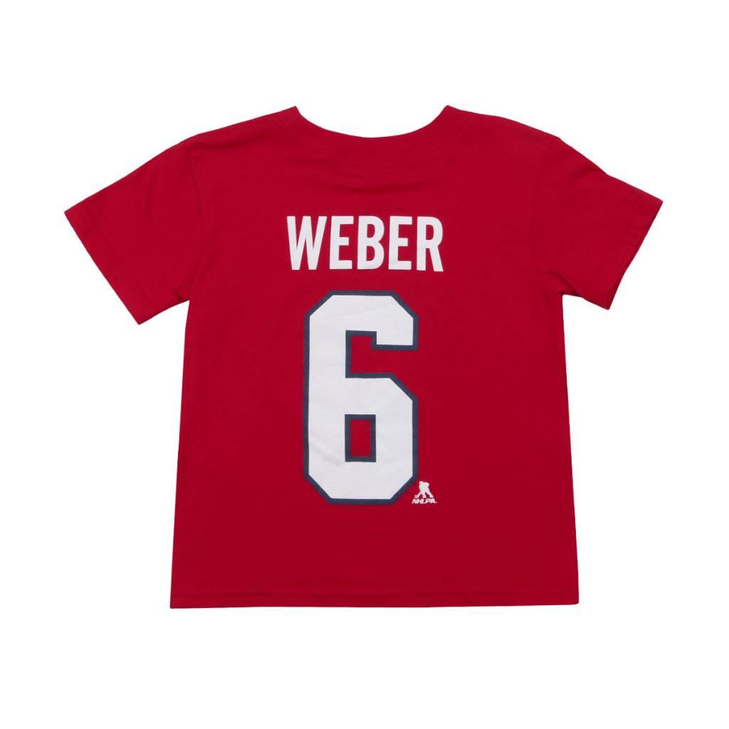 Outerstuff T-SHIRT JOUEUR ENFANT #6 SHEA WEBER