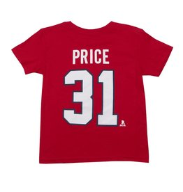 Outerstuff CAREY PRICE #31 KID'S PLAYER T-SHIRT