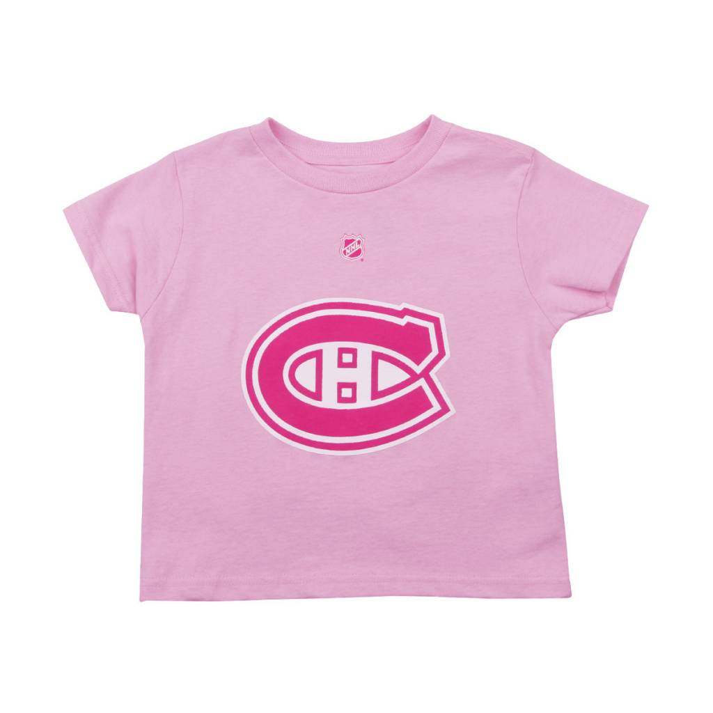 Outerstuff CAREY PRICE #31 KID'S PLAYER PINK T-SHIRT