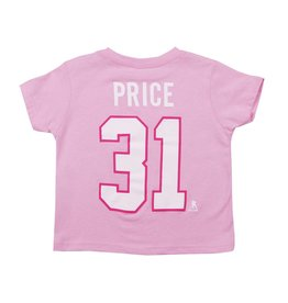 Outerstuff T-SHIRT JOUEUR ENFANT #31 CAREY PRICE ROSE
