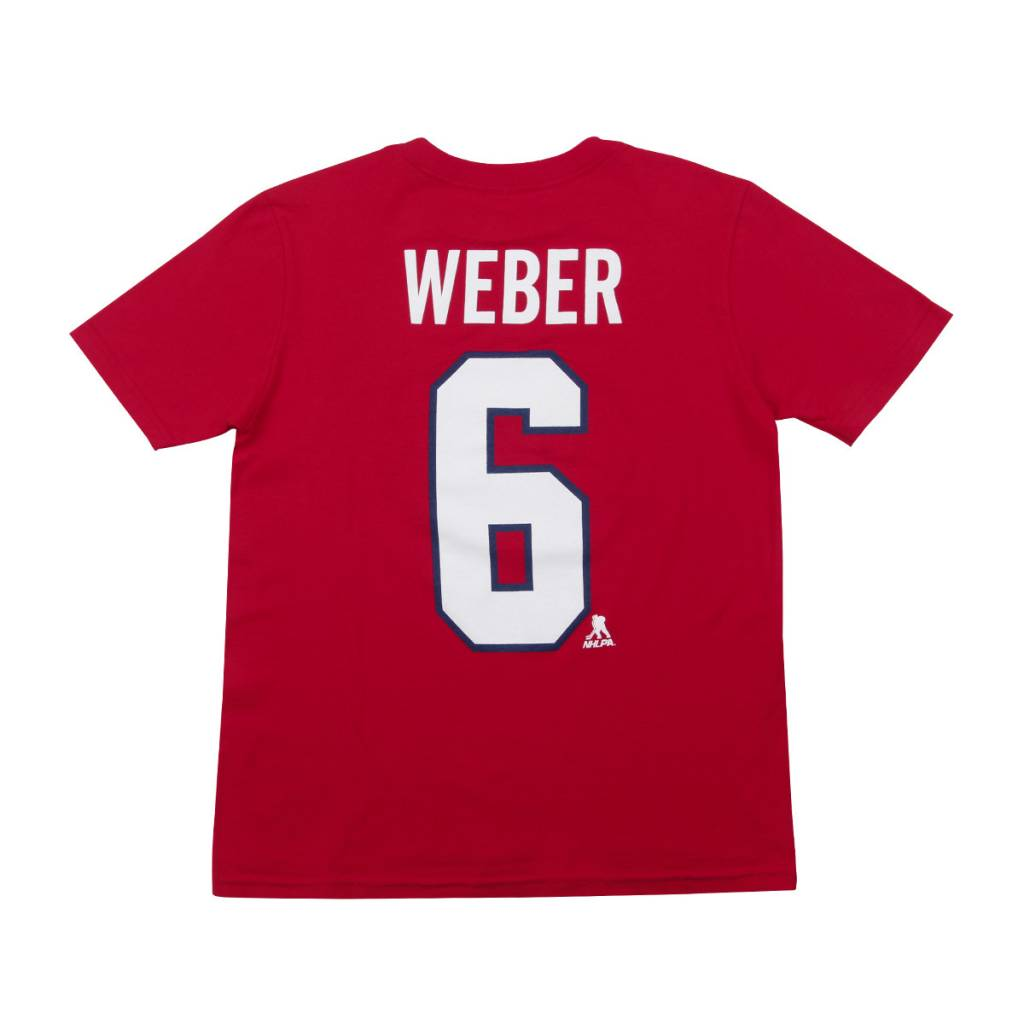 Outerstuff T-SHIRT JOUEUR JUNIOR #6 SHEA WEBER