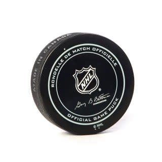 Club De Hockey ARTTURI LEHKONEN GOAL PUCK (8) 13-MAR-2018