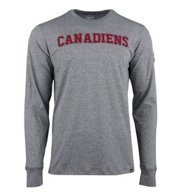 47' Brand CANADIENS APPLIQUÉ LONG SLEEVE