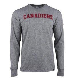 47' Brand MANCHE LONGUE CANADIENS APPLIQUÉS