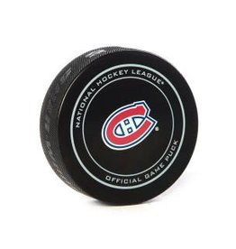 Club De Hockey ERIK KARLSSON GOAL PUCK (1) 24-APR-2015 (PLAYOFFS)