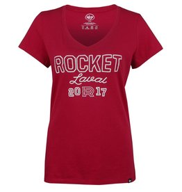 47' Brand ESTABLISHED 2017 WOMEN'S ROCKET T-SHIRT