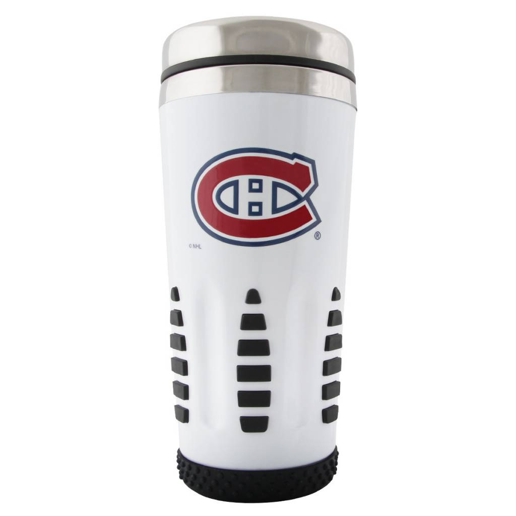 Mustang WHITE TRAVEL MUG
