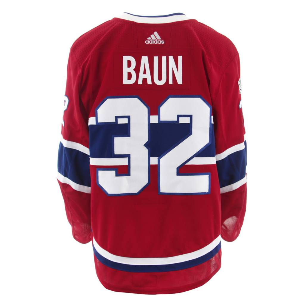Club De Hockey 2017-2018 #32 KYLE BAUN HOME SET 1 GAME-USED JERSEY (GAME-ISSUED)
