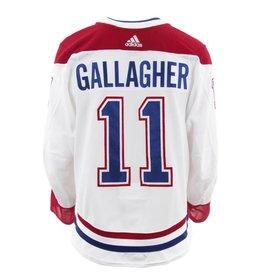 Club De Hockey CHANDAIL PORTÉ 2017-2018 #11 BRENDAN GALLAGHER SÉRIE 3 √Ä L'ÉTRANGER