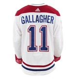 2017-2018 #11 BRENDAN GALLAGHER AWAY SET 2 GAME-USED JERSEY