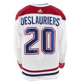 Club De Hockey CHANDAIL PORTÉ 2017-2018 #20 NICOLAS DESLAURIERS SÉRIE 2 À L'ÉTRANGER